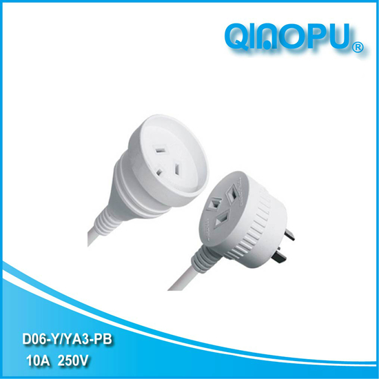 Australia 90-degree right angle power cord