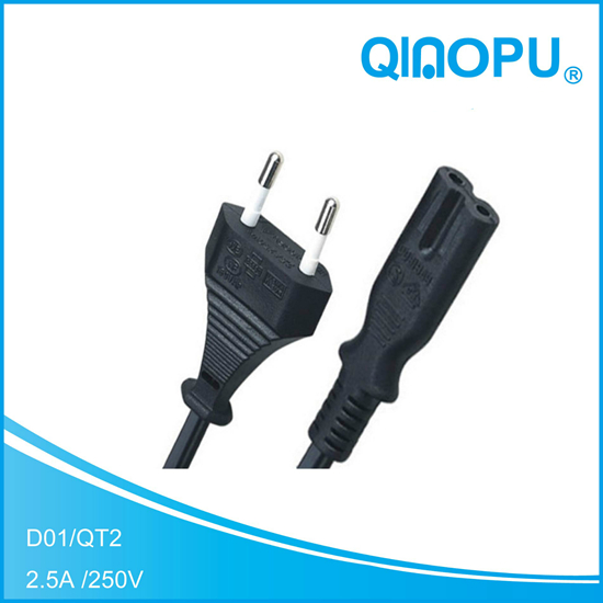 D01-QT8 VDE POWER CORD
