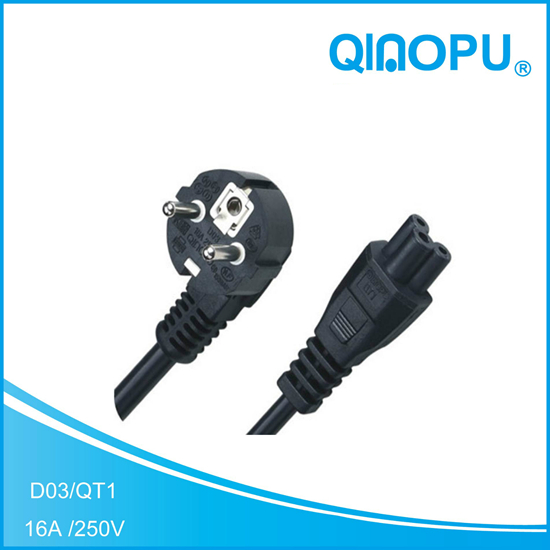 D03-QT3 VDE POWER CORD