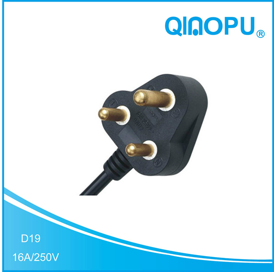 D19 South Africa Power cord