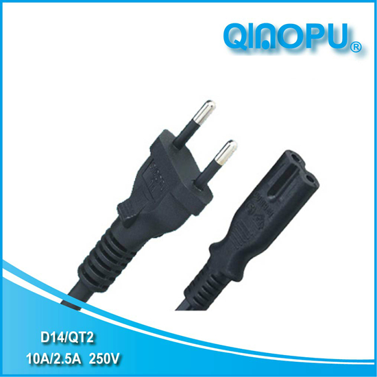 D14 QT2 Brazil power cord