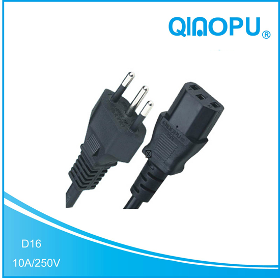 D16 QT3 Brazil power cord